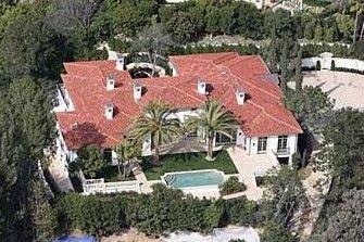 David ve Victoria Beckham Beverly Hills'teki bu malikanede yaşıyor